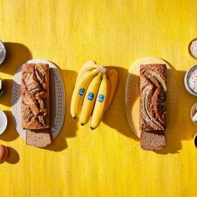 Συνταγές για το καλύτερο Banana Bread με υποκατάστατα