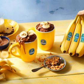 Το καλύτερο κέικ σε κούπα με σοκολάτα και μπανάνα Chiquita