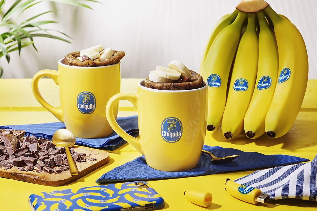 Chiquita Banana Bread σε κούπα