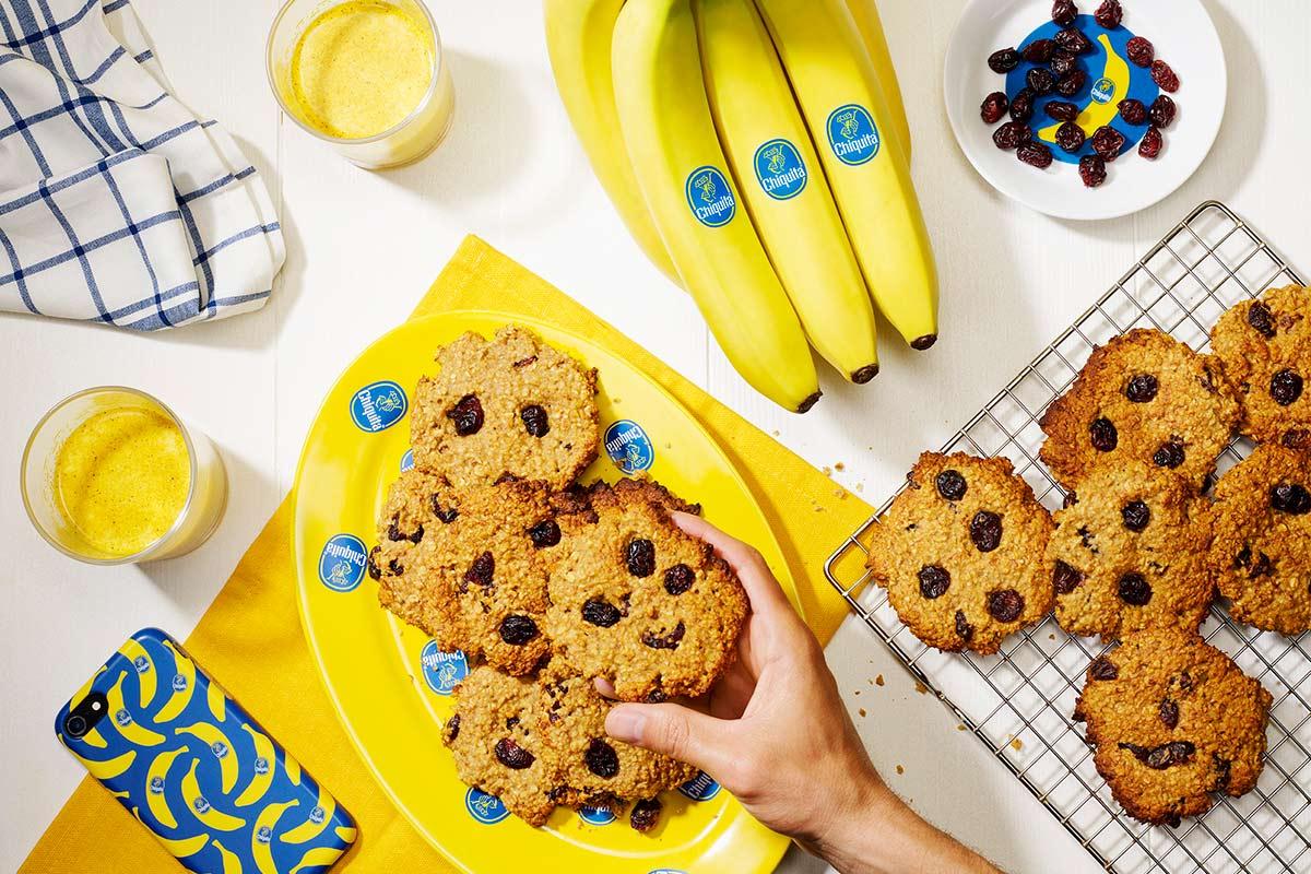 Μπισκότα μπανάνας για πρωινό από την Chiquita