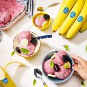Παγωτό με κατεψυγμένη μπανάνα από την Chiquita