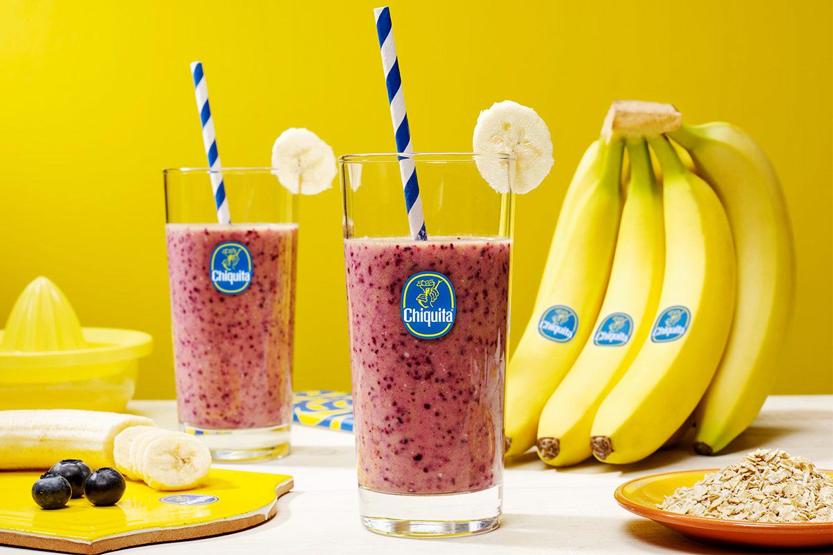 Smoothie μπανάνας με βρόμη για ένα υγιεινό πρωινό από την Chiquita