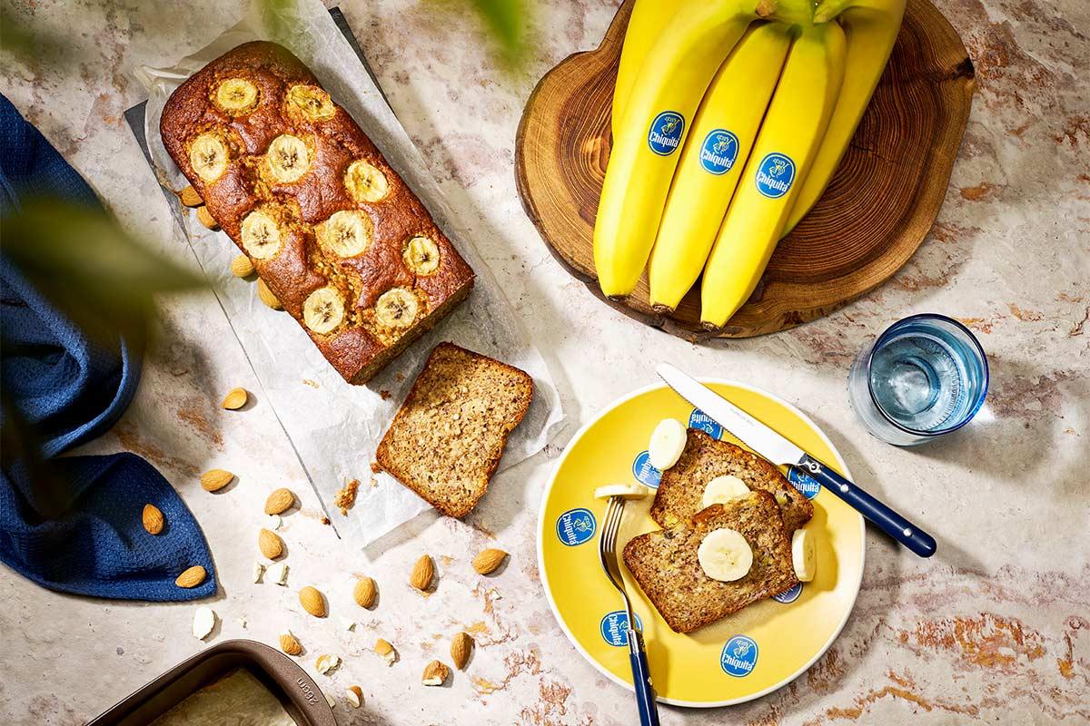 Banana bread για δίαιτα Paleo από την Chiquita