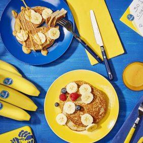 Πρωτεϊνούχες τηγανίτες μπανάνας για μετά από τη γυμναστική από την Chiquita