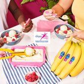 Frozen yogurt με κάρδαμο και μπανάνα από την Chiquita